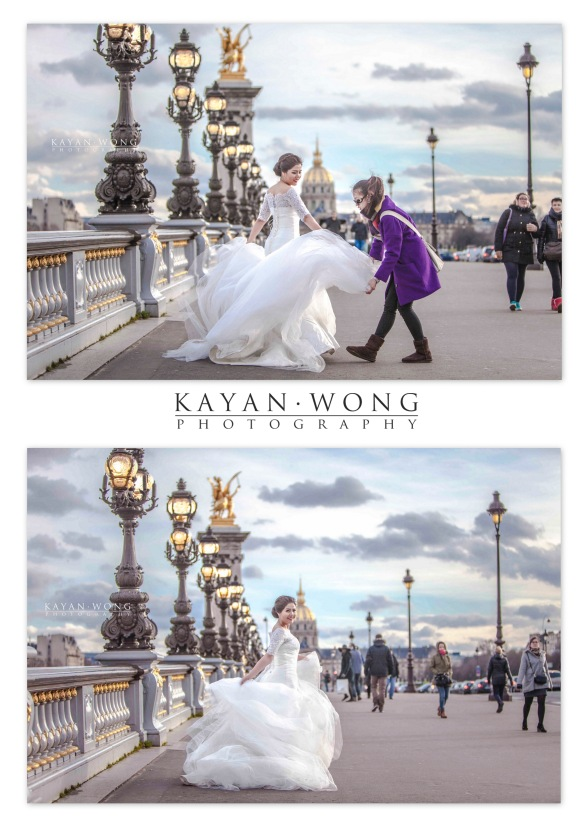 Prewedding photography Paris