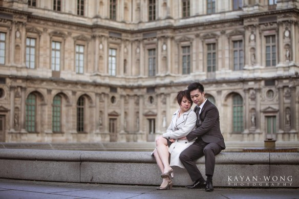 Pre-wedding photo Paris