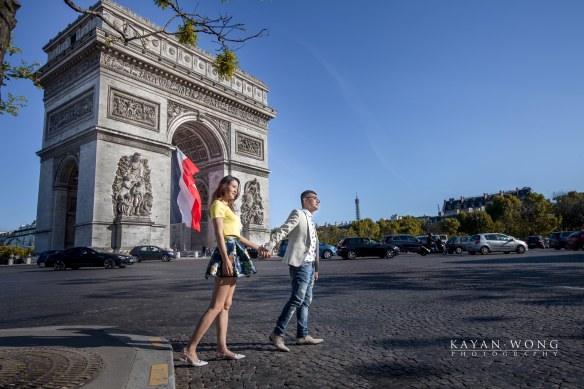 Pre-wedding photography Paris