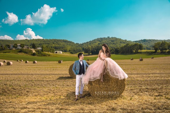 Pre wedding photo Provence