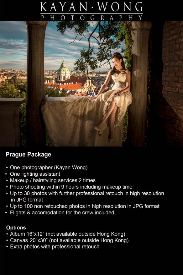 Pre wedding photography Prague
