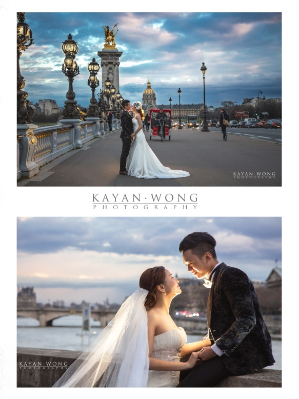 overseas pre wedding photographie