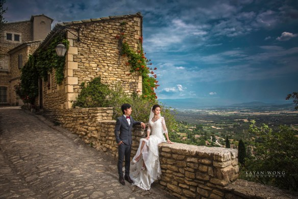 Pre-wedding photo Provence