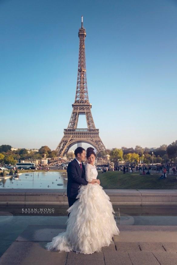pre wedding paris